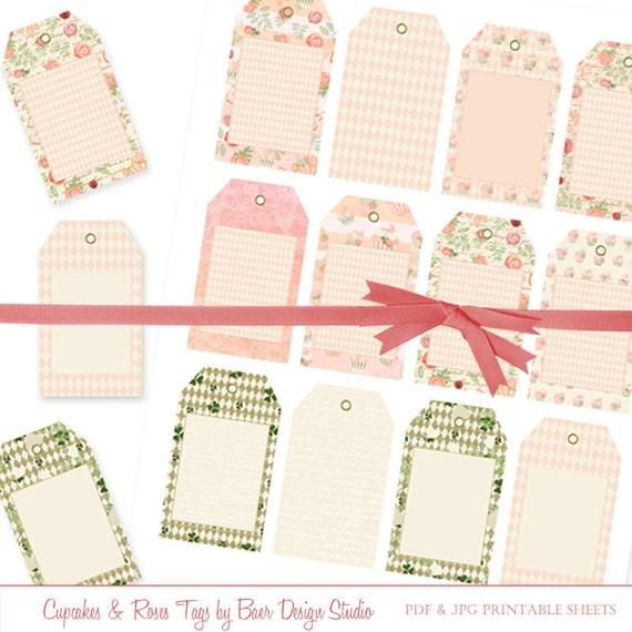 Wedding Gift Tags Printable : Wedding Favor Tags, Printable Tags, Gift Tags, Party Favor Tags, Hang ...