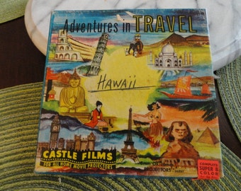 B893)  Vintage Hawaii State of Paradise 8MM complete edition Castle Films