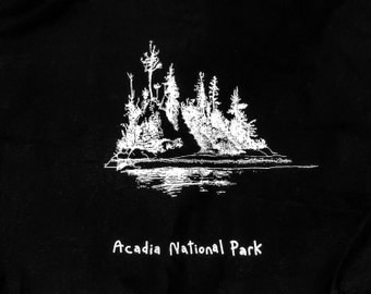 Acadia National Park, canvas bag