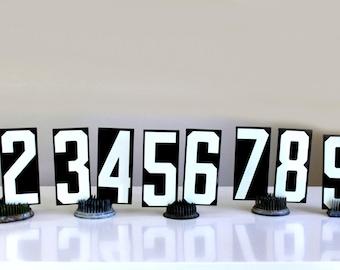 "vintage Unitype numbers 1-9  -- 4"""