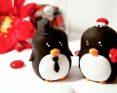 Penguin Wedding Cake Toppers