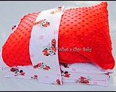 Nap Mat Minnie Mouse Cover with Pillow Case for Toddler Nap Time Preschool; Optional Mat and Pillow