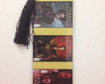 Upcycled Penny Dreadful Comic Book Bookmark