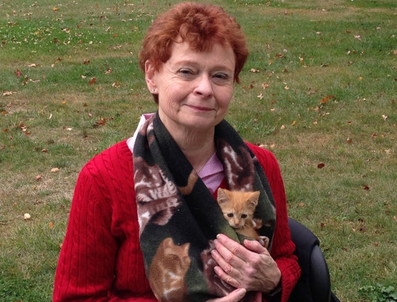 Carry your kitten in a sling.    100% of proceeds goes to support Cat Welfare Ohio