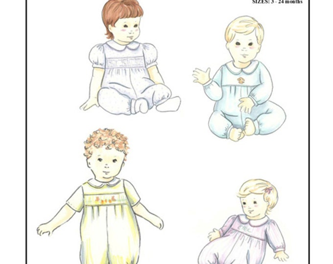 Long Bubble or Jumpsuit Pattern  by Michie- #138