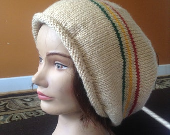 Knit slouch tam
