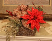 SALE 5.00 off...Beautiful Centerpiece that would look great anywhere in the house...
