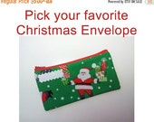 ON SALE Cash Envelope System, Budget Envelope, Ready to Ship -CHRISTMAS, Holidays- for use with the Dave Ramsey System