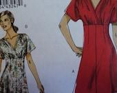 """Dress CustomFit Cup Sizes Vogue Pattern 8632 Uncut All Sizes 18-20-22-24 Bust 40-42-44-46"""""""