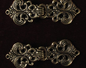 Fancy Feathers Clasp TLB-007AG