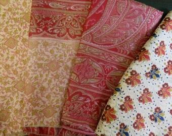 Fat Quarters, Silk Fabric, Sari Silk FQ83