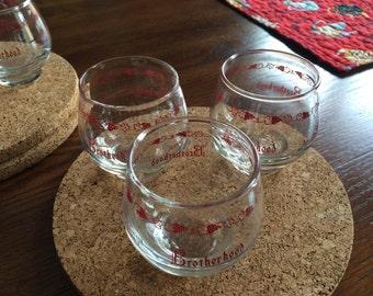 Vintage Brotherhood Winery Glasses (6)