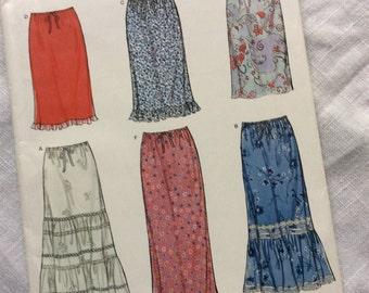 New Look skirt 6953 easy pattern uncut  size 8-18
