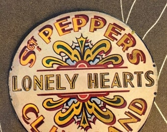 Sgt. Pepper's Lonely Hearts Club Band Record Coasters, Beatles