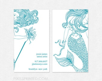 Tattoo business card | Etsy