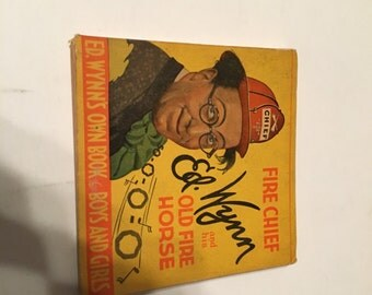 fire chief ed wynn and his old fire horse 1934 paperback