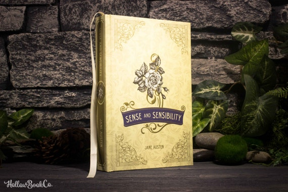 Hollow Book Safe - Sense and Sensibility - Jane Austen