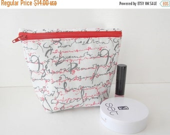 MOTHERS DAY SALE Cosmetic Pouch - Makeup Bag - Toiletry Bag - Cosmetic Bag - Waterproof Bag - Wet Bag