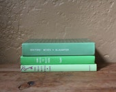 Mint Green Book Collection