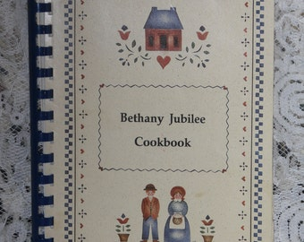 Bethany Jubilee Cookbook Smyrna GA Methodist Vintage Recipes