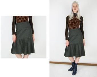 CACHAREL Vintage Wool Skirt