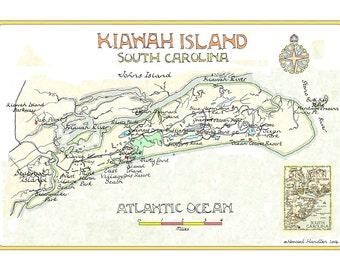 Kiawah Island, SC Two Sizes