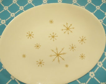Star Glow Platter Royal China Vintage 1960s