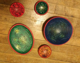 Beautiful and Unique Bowl/Plate/Dish Set