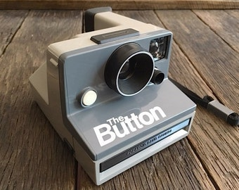 Vintage Polaroid The Button Camera Never Used Polaroid Camera Lowered Priced