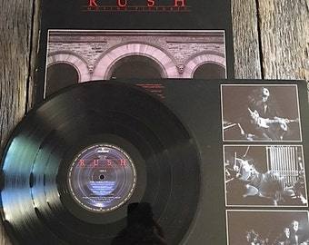 Rush Moving Pictures Record Rush Album SRM-1-4013 Classic Rush Vinyl Record