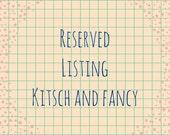 custom listing for jessica3716