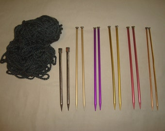 DESTASH Yarn & Knitting Needles