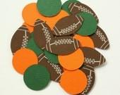 Football Confetti . Sports Themed Table Confetti . Diecuts. Football Party Decor. Football Decorations . Sports Confetti . Football Birthday
