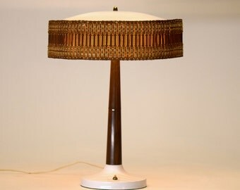 Excellent Gerald Thurston desk table lamp Lightolier vintage mid century modern