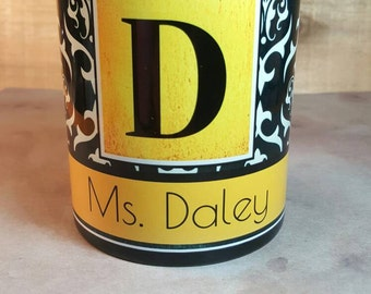 Teacher Gift Personalized Coffee Mug Custom Coffee Cup