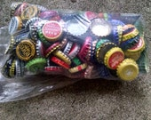215 Colorful Assorted Bottlecaps