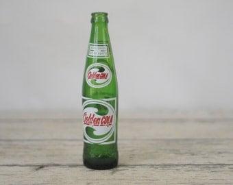 Vintage Golden-Cola Sun Drop Soda Bottle Pop Bottle St Louis Mo  1966