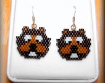 Beaver Earrings - Oregon State University