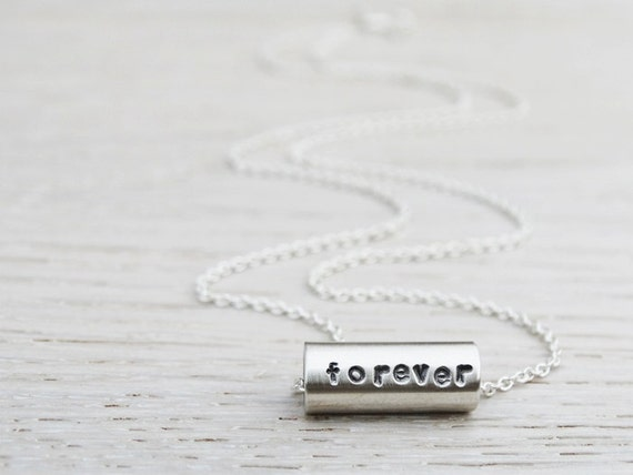 Personalised Silver Bead Necklace - Sterling Silver