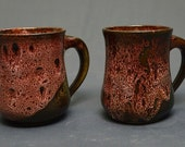 Pottery Mug set of 2 Available Now!