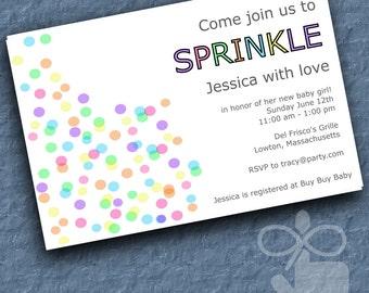 Baby Sprinkle Invitation - Digital