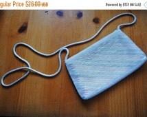 ON SALE Vintage Beaded Pastel Striped purse - Speyer Milor LTD