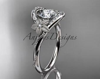 platinum diamond unique engagement ring,wedding ring ADLR166