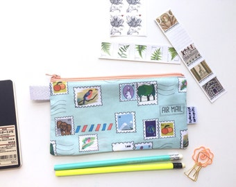 You've Got Mail Divided Pencil Case (handmade philosophy's pattern)