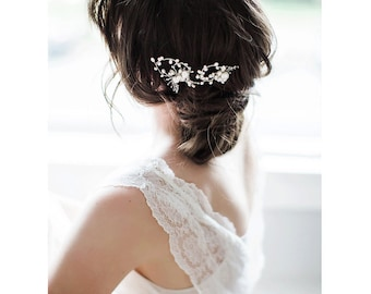 Ivory Bridal hairpins - Cera