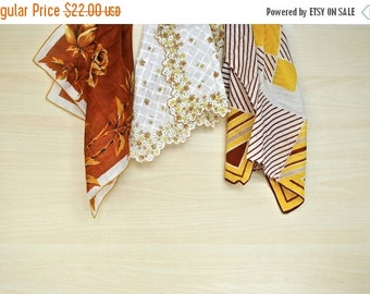 ON SALE Vintage Handkerchief Collection