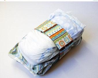 Clearance Mod Tod Diaper Strap - Cream Mod Tod Stripe