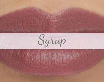 "Sample Vegan Lip & Cheek Cream - ""Syrup"" (grayed beige mauve lipstick / cream blush)"