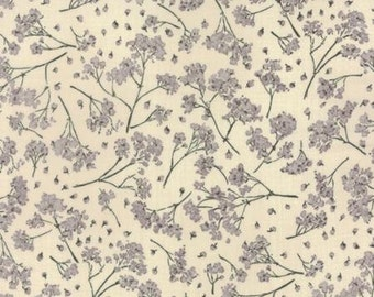 Pre-Order-Wordsmith Floral Gypsophila Paper 13921 11  for Moda