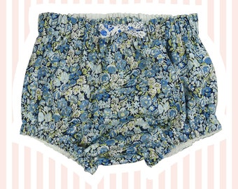 Liberty of London Nappy Covers   Blue Chive